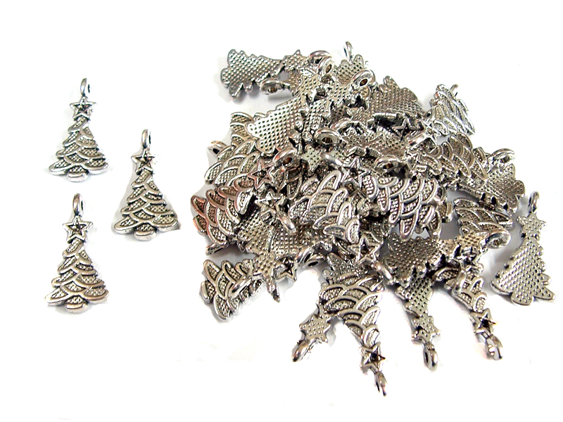 100 Christmas Tree Charms